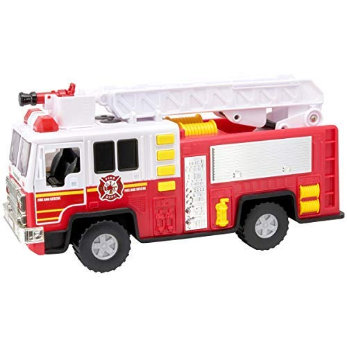 Adventure Force Fire Truck Utility Vehicle with Lights & Sounds