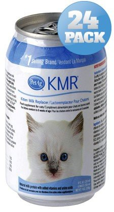 24 PACK KMR Milk Replacer for Kittens (192 OZ) by Pet Ag