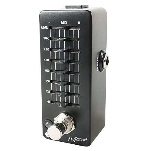 Mr.Power Guitar EQ Effect Pedal 7 Band Equalizer Mini Pedal by Mr.Power