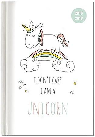 modello misto A5 Toyvian 1pc Cartoon Unicorn Hard Face Notebook Agenda Planner Notebook Diario Notepads Cancelleria Scuola