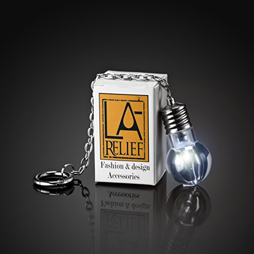 [NEW] Bag and Purse Led Light by La Relief. Stylish Silver Metallic - Super Bright Light, on/off (Bag Light)