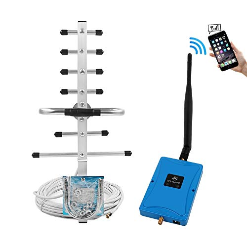 (Cell Phone Signal Booster for Home - Boost AT&T T-Mobile 2G 3G 4G Voice & Data Signal by ANNTLENT Dual Band 4/5 850MHz 1700/2100MHz Mobile Phone Repeater Amplifier Kit with Whip/Yagi Antennas)