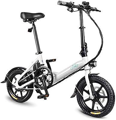 FastDirect Bicicleta Eléctrica de Aleación de Aluminio Bicicleta ...