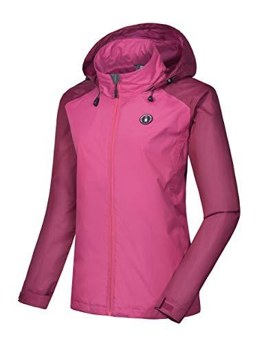 Little Donkey Andy Women's Mountain Ski Windproof Waterproof Jacket Red/Ruby XL (Jacket Xl Womens Size Ski)