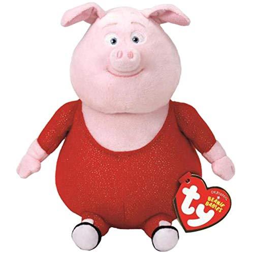 Pink Poodle Rocker - plush bear Ty Beanie Boos 6