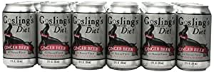 Gosling's Diet Stormy Ginger Beer 12 Oz Pack of 24
