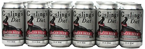 does diet goeslings cintain real ginger
