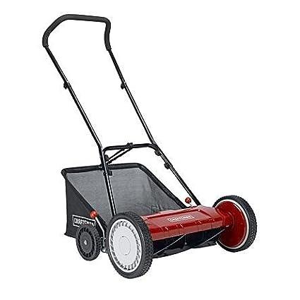 craftsman manual lawn mower