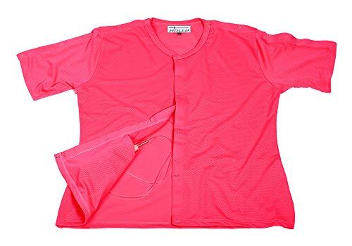 MISLED Breast Cancer Mastectomy Shirt (L, Pink)