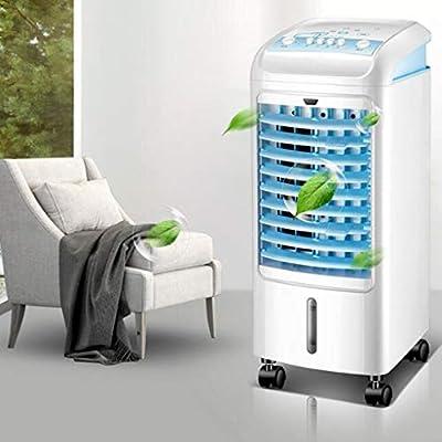 Ventilador de Aire Acondicionado Ventilador eléctrico Ventilador de refrigeración del hogar Ventilador silencioso móvil Ventilador purificador de Aire Aire Super frío: Amazon.es: Hogar