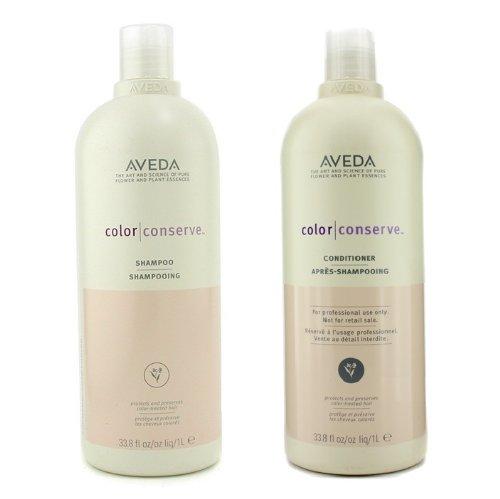 Aveda Color Conserve Shampoo 33.8oz and Conditioner 33.8 oz