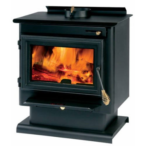 - Summers Heat 50-SNC13 Wood Burning Stove 1,200-1,800 Square Foot