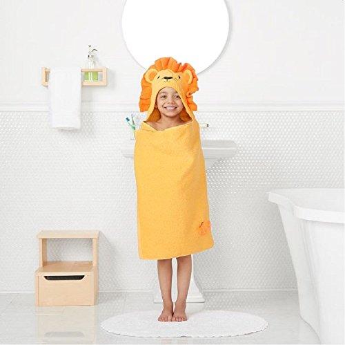 Jumping Beans Lion Hooded Bath Towel Wrap (25