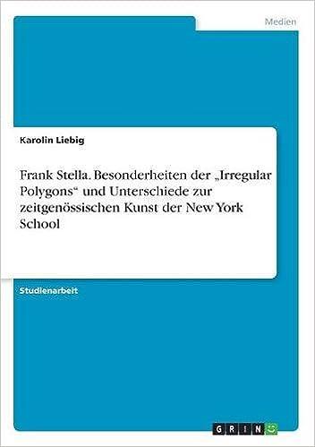 Book Frank Stella. Besonderheiten der