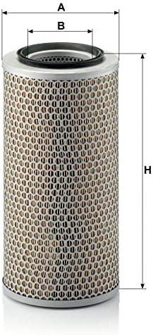 Original Mann Filter Luftfilter C 17 250 Für Nutzfahrzeuge Auto