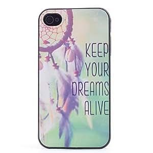 HP- Keep Your Dreams Alive Caso plástico duro para el iPhone 4/4S