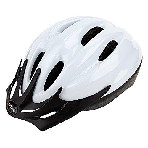 Airius V-10 Helmet, White, (Airius Bicycle Helmet)