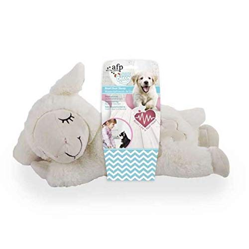 - Afp All For Paws Little Buddy Puppy Dog Heart Beat Sheep Toy