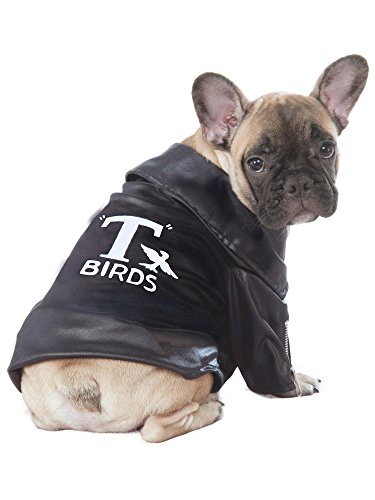 Rubie's Grease 40th Anniversary Pet T-Birds Jacket, Large
