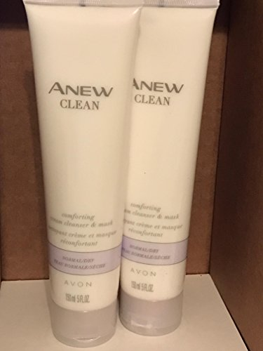 Anew Clean Comforting Cream Cleanser & Mask 5 fl.oz. lot 2 tub ()