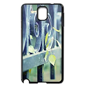 Cathyathome Iron Fence Samsung Galaxy Note 3 Cases, [Black]