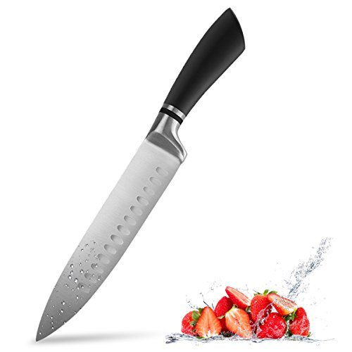 Chef knife, Catnee Chef's Knife 8 inches, Kitchen Knife High Carbon - Ultra Sharp Stainless Steel Chef Knife for Home Kitchen and Restaurant - Chefs Stainless Steel Chefs Knife