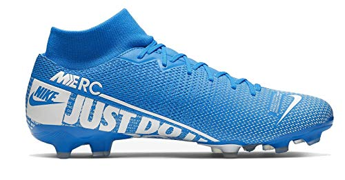 Nike Mercurial Superfly 7 Academy Fg Soccer Cleats M12 5 W14 Blue White M