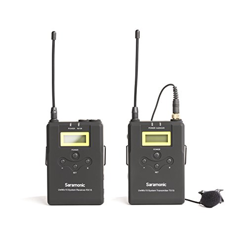 - Uwmic15 Uhf Wireless Lavalier Microphone System (Uwmic15)