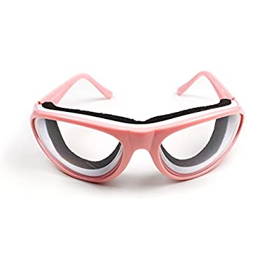 RSVP Tearless Pink Kitchen Onion Goggles, supports Breast Cancer Awareness