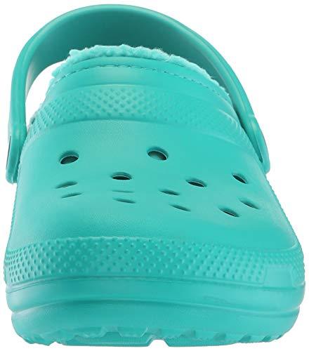 Clog Sabots Vert Classic tropical Adulte U Lined Teal 3o4 Teal Mixte Crocs tropical xIE1Z4wZ