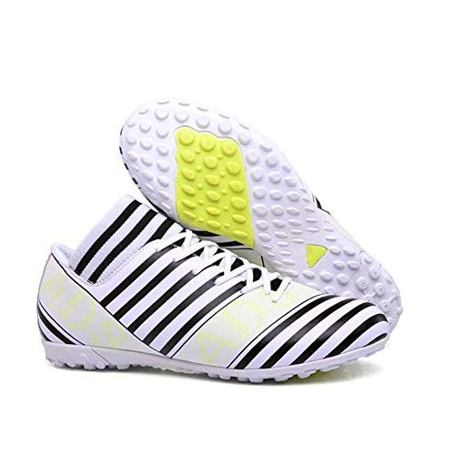 Scarpe scarpe Fhtd Basse White Uomo Antiscivolo Con scarpe Tacchetti Ginnastica Calcio Da Uomo Traspiranti da Uomo Calcio gxIqdwIB