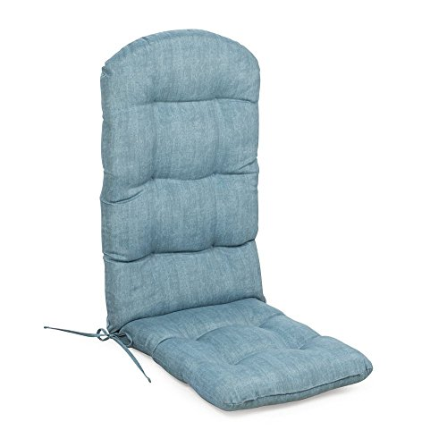 Home Improvements Frosty Light Blue Outdoor Patio Adirondack Chair Cushion Seasonal Replacement (Adirondack Lights Pads)
