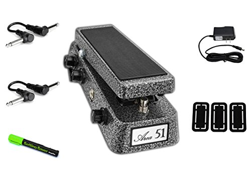 Area 51 Wah with All Options PRYMAXE PEDAL BUNDLE by AREA