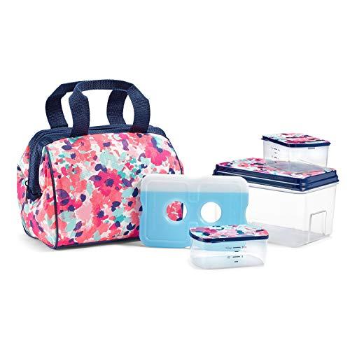 Fit & Fresh 902TG1389 Charlotte Lunch Bag Kit, 9