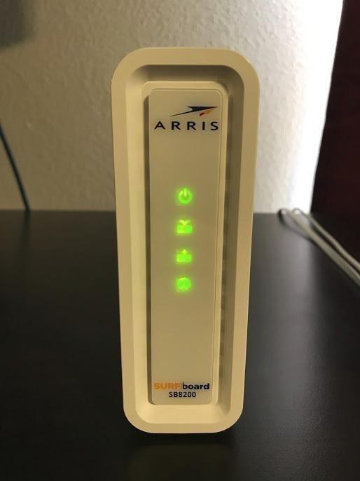 ARRIS Surfboard Gigabit DOCSIS 3 1 Cable Modem, 10 Gbps Max