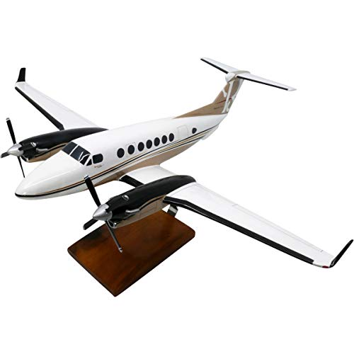 Beechcraft King Air - Beechcraft King Air 350i Large Mahogany Model