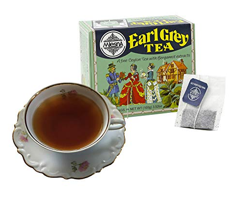 - Mlesna Ceylon Tea With Natural Bergamont Extract Earl Grey Mlesna Tea Bags -Ozone Friendly Tea 100 Individual Bags ( 2 Pack of 50 Tea Bags )