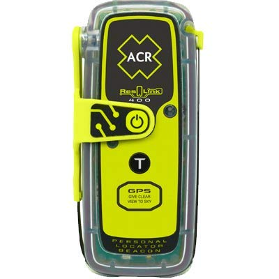 ACR ResQLink 400 - Buoyant GPS Personal Locator Beacon (Model: PLB-400) (Radio Beacon)