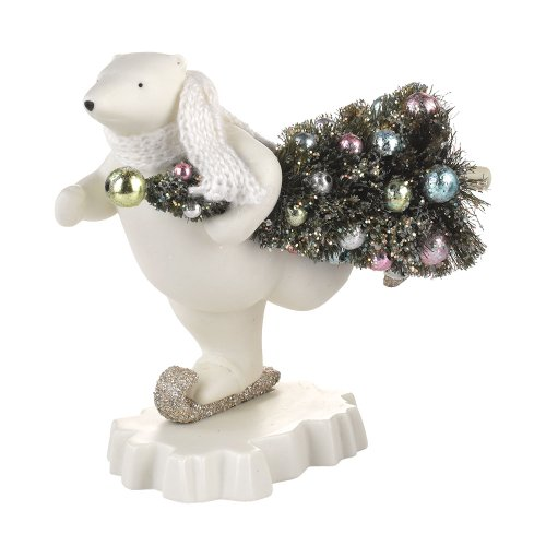Department 56 Snowbabies Dream Collection Polar Delivery Figurine, 5.31 inch