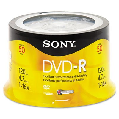 (Disc, Dvd-R, 4.7gb For General Use,Branded, 50/Spindle, 16x)