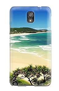 For AIYAYA Galaxy Protective Case, High Quality For Galaxy Note 3 Indian Beaches Skin Case Cover