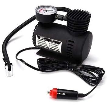 RanDal Dc 12V 300 Psi Inflador De Aire Para Compresor De Aire De Bomba Eléctrica Para Motocicleta Para Automóvil - Negro - Negro: Amazon.es: Coche y moto