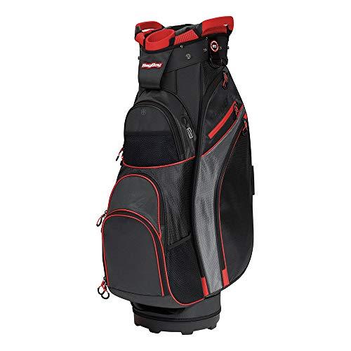 Bag Boy Chiller Cart Bag Black/Charcoal/Red Chiller Cart - Pull Cart Boy Bag
