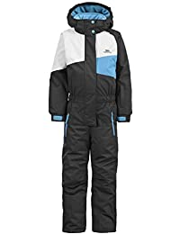 Trespass girls Trespass Boys & Girls Wiper One Piece Padded Technical Ski Suit
