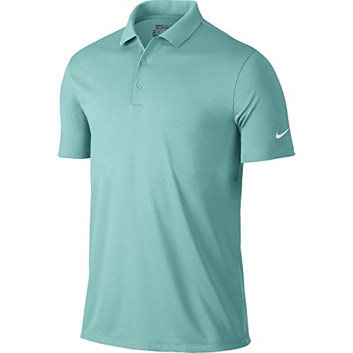 Nike Golf Victory Solid Polo (Light Aqua/White) (2XL)