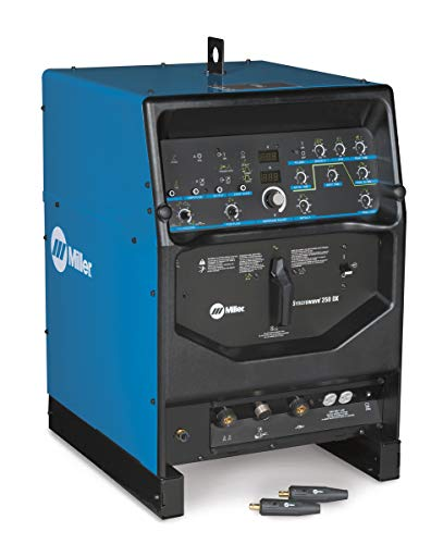 Miller Syncrowave 250 DX TIG Welder, 200/230/460 Volt With Power Source And 2 Dinse Connectors, Package Size: 1 Each