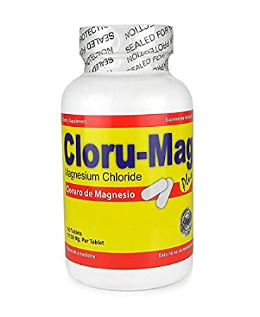 Amazon.com: Magnesium Chloride Bundle of 2: Cloru-Mag Plus tablets and Líquid form (Cloruro de Magnesio, paquete de 2 productos): Health & Personal Care