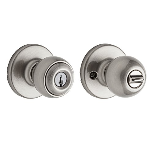 Kwikset Polo Entry Knob in Satin Nickel (Kwikset Polo Entry)