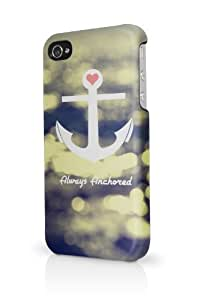 Always Anchored Beach Bokeh iPhone 5 Case - Fits iPhone 5 Full Print Plastic Snap On Case