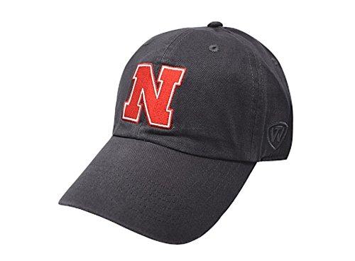 Nebraska Fan (Nebraska Cornhuskers Hat Icon Charcoal - Charcoal Gray)